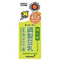 キッコーマン カロリー45%オフ 調製豆乳 200ml紙パック×18本