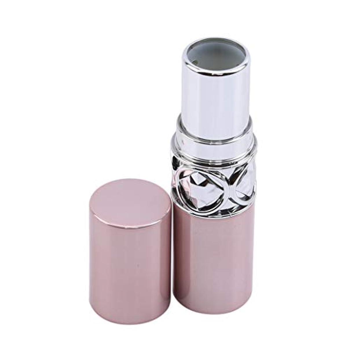 刑務所軍艦宣伝GOMYIE ピンクのプラスチック空の口紅容器口紅チューブ口紅空容器回転底(ピンク)