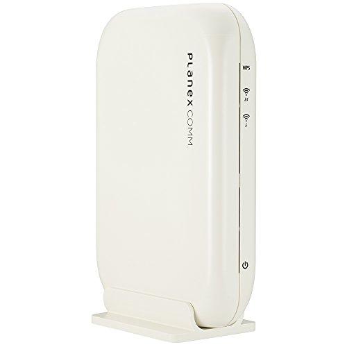 PLANEX 11ac 無線LAN親機/中継機/コンバーター オールギガ 866Mbps+300Mbps MZK-1200DHP2 不正アクセス防止...