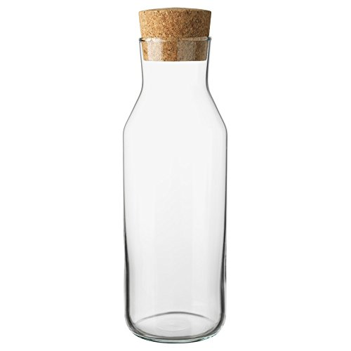 IKEA 365 +スリムCarafe with Cork Stopper ...