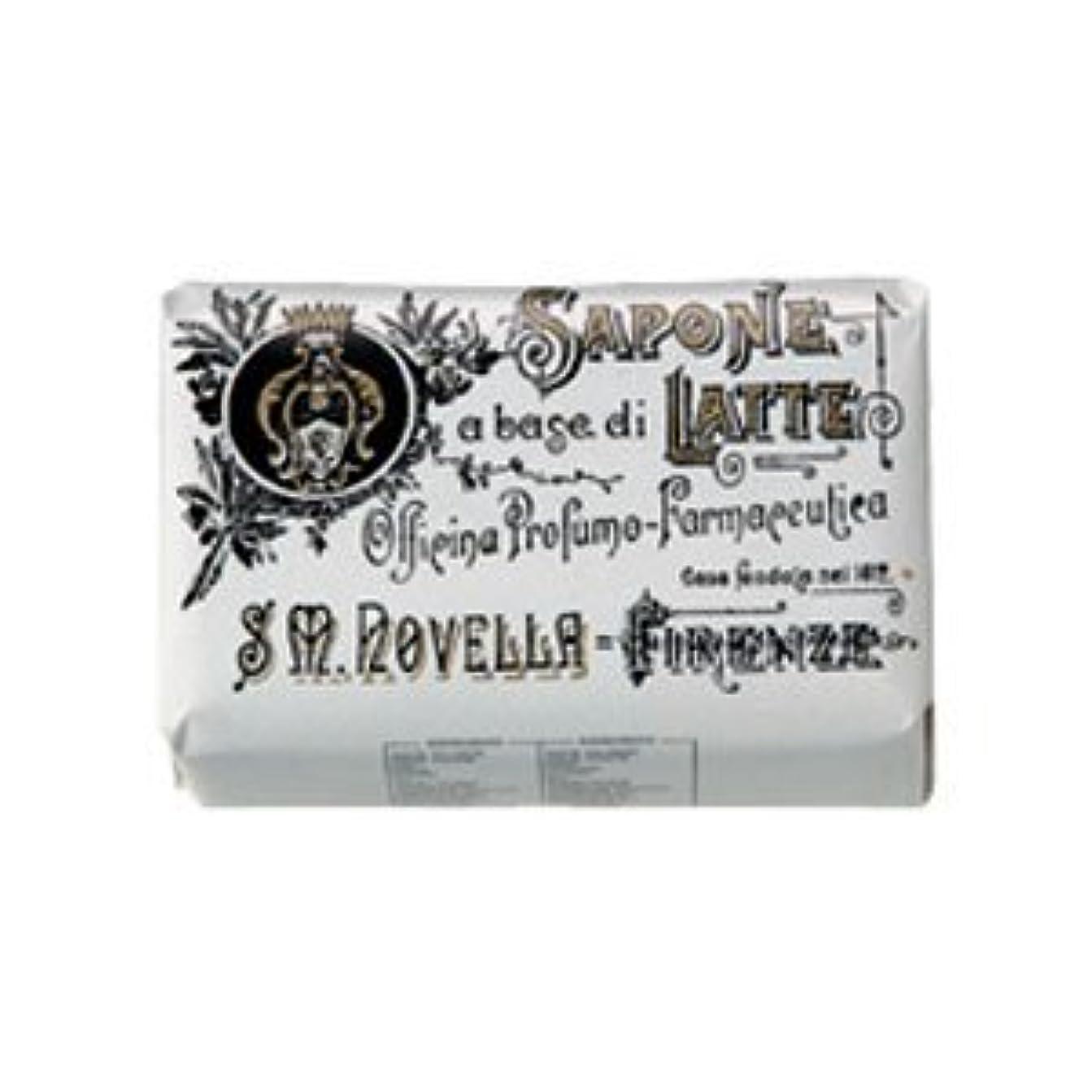 落ち着いた電卓ピクニックサンタ マリア ノヴェッラ Santa Maria Novella ミルクソープ ローザ 100g