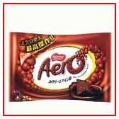 エアロ 25個 ネスレお菓子 スナック菓子