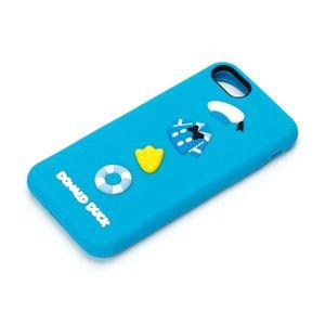 PGA iPhone8/7用 シリコンケース ドナルドダック PG-DCS145DND