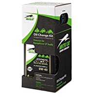 Arctic Cat ACX 0W-40Synthetic Oil変更キットfor Arctic Cat 550XR 2015