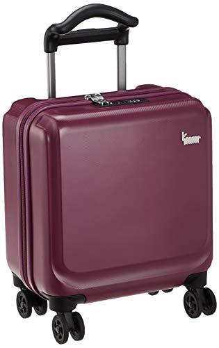 [カナナプロジェクト] スーツケース等 カナナPJ-12 ハードトロリー コインロッカーサイズ 機内持込可 18L 34cm 2.4kg 05878 10 レッド