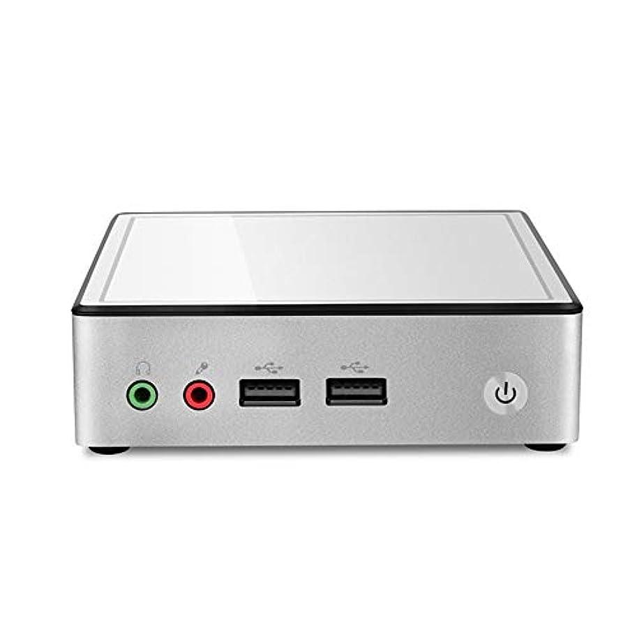 検出器わかる終わらせるデスクトップ パソコン 小型パソコン ミニPC Intel Celeron_3205U 【Windows 10 Pro 64bit】【メモリ4GB】【SSD128GB】豊富なインターフェース 事務用/家庭用 小型PC パソコン