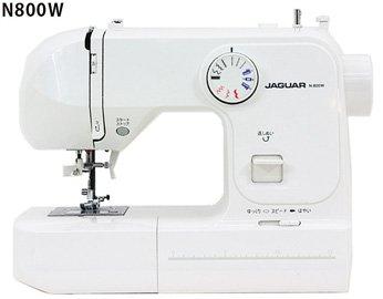 【ワイドテーブル、フットコントローラー付き】ジャガー 電子ミシン 「N800W」