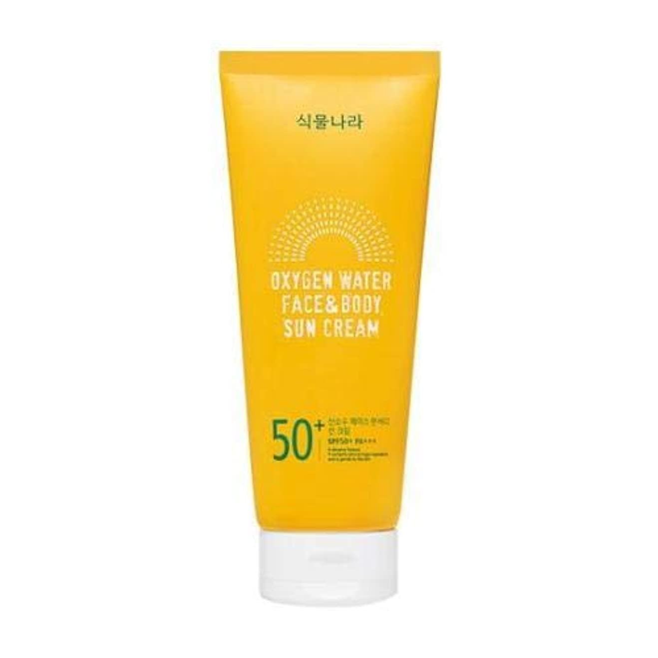 会員構成する赤字shingmulnara Oxygen Water Face & Body sun cream サンクリーム (200ml) SPF50+ PA+++