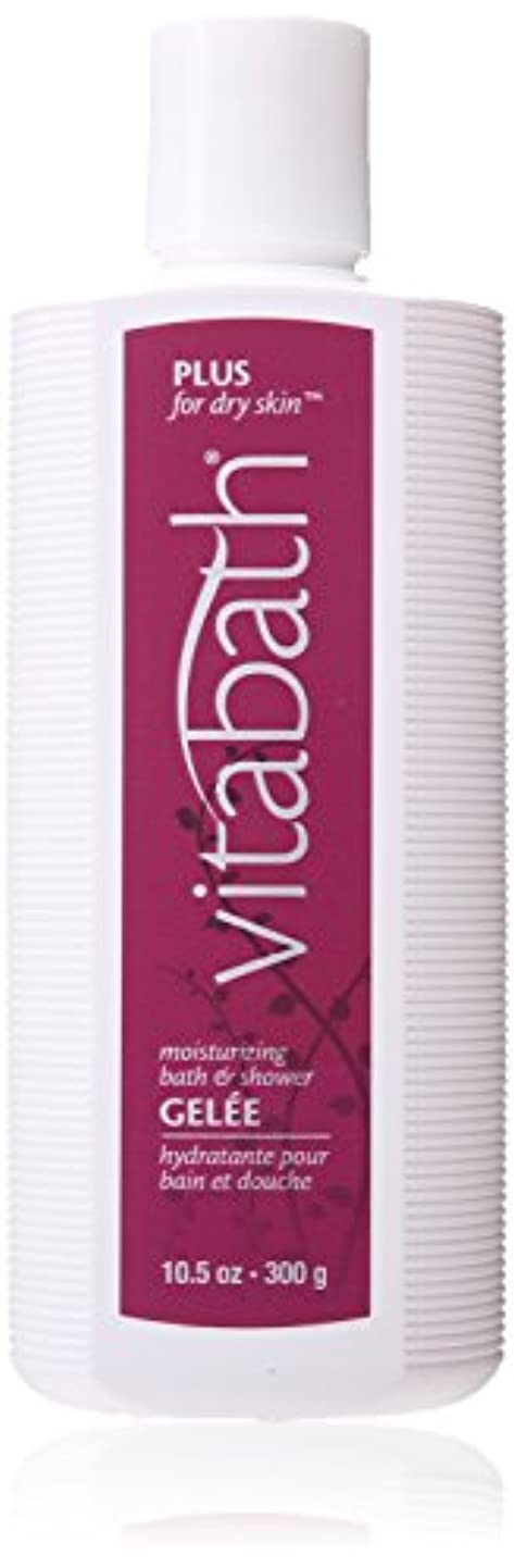 ご予約社会主義用心深いPlus For Dry Skin Moisturizing Bath And Shower Gelee by Vitabath