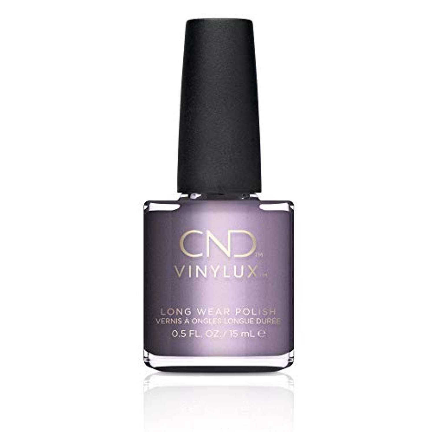 常習的複数ワーカーCND Vinylux Nail Polish - Fall 2017 Glacial Illusion Collection - Alpine Plum - 0.5oz / 15ml