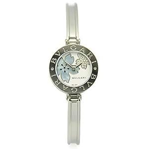 (ブルガリ)BVLGARI BZ22FDSS.M B-ZERO1 ビーゼロワン バングル ダイヤモンド フラワー ホワイト/ブルーシェル レディースウォッチ/腕時計 シリアル有[並行輸入品]