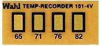 Wahl Instruments 真空用テンプ・プレート(不可逆性) 4点表示 101-4V-065