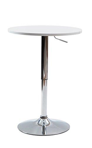 【美感スタイリッシュ 昇降式バーテーブル(直径60cm)】 使いやすい安定したカウンターテーブル お洒落なBAR 立食用でもOK 丸テーブル