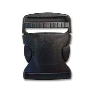 Nifco<ニフコ>プラスチックパーツ 差し込みバックル(TSR50) 50mm幅テープ用