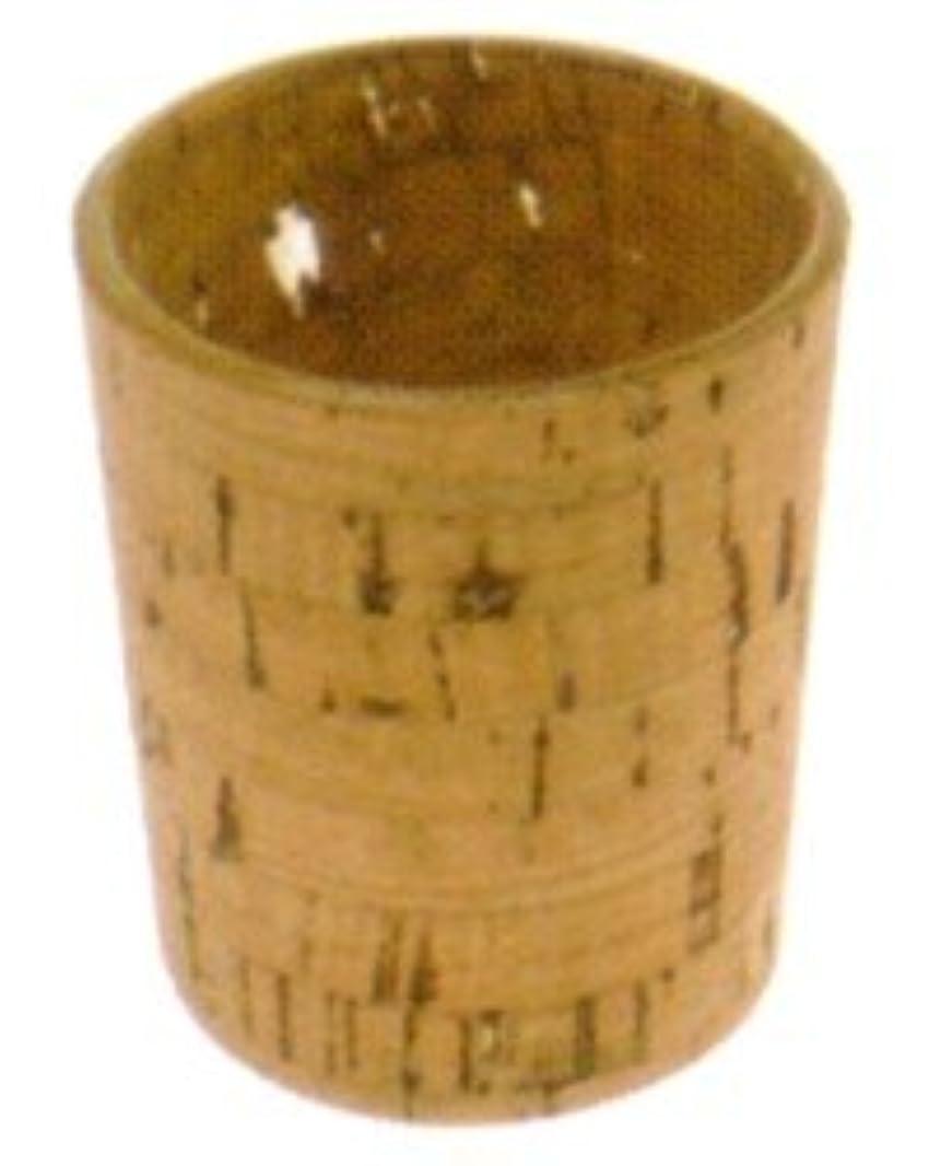 収入シンプルさキャンドルホルダー ナチュラルウッド cork