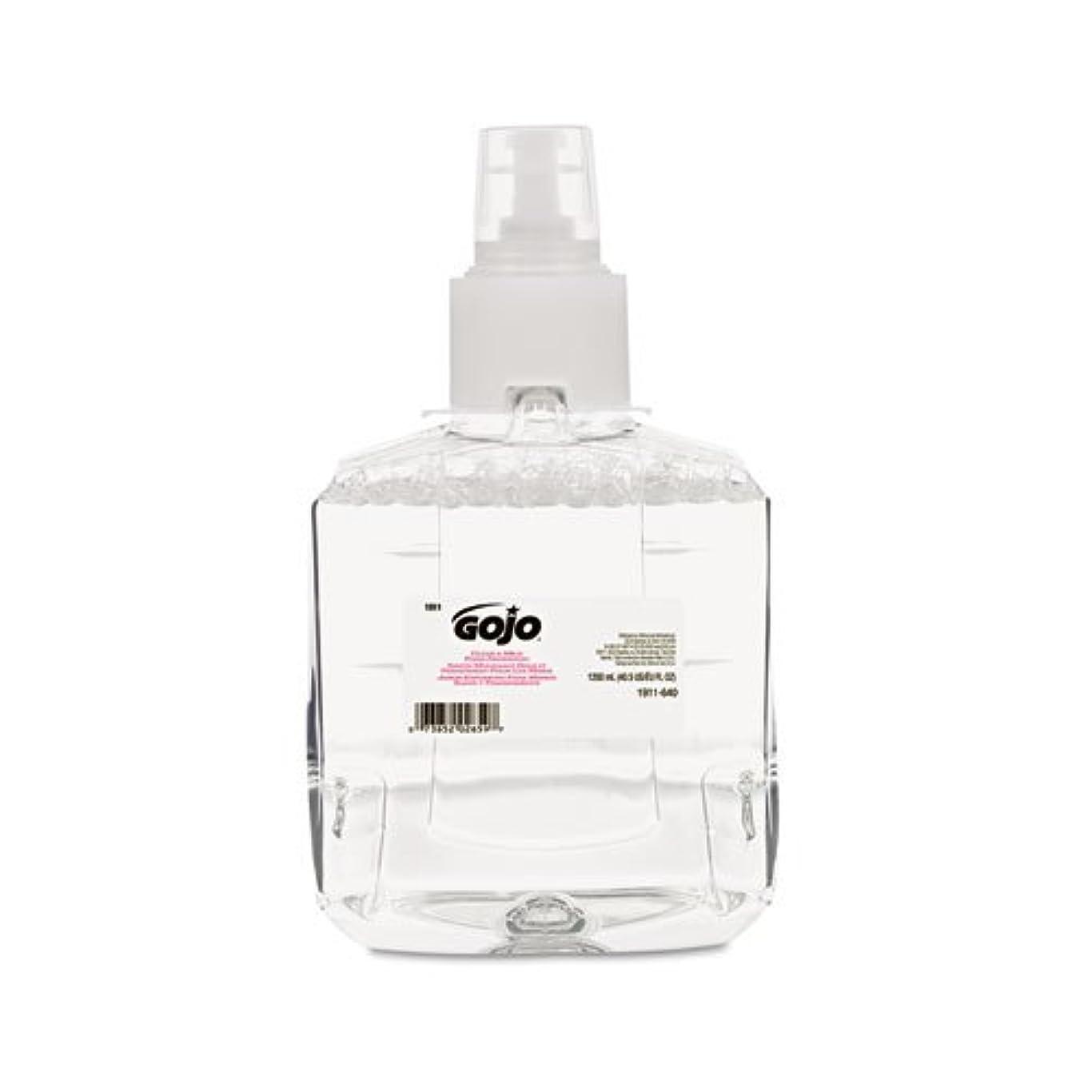 避難する露出度の高い薄いGOJO - Clear & Mild Foam Handwash Refill, Fragrance-Free, 1200mL Refill 191102EA (DMi EA