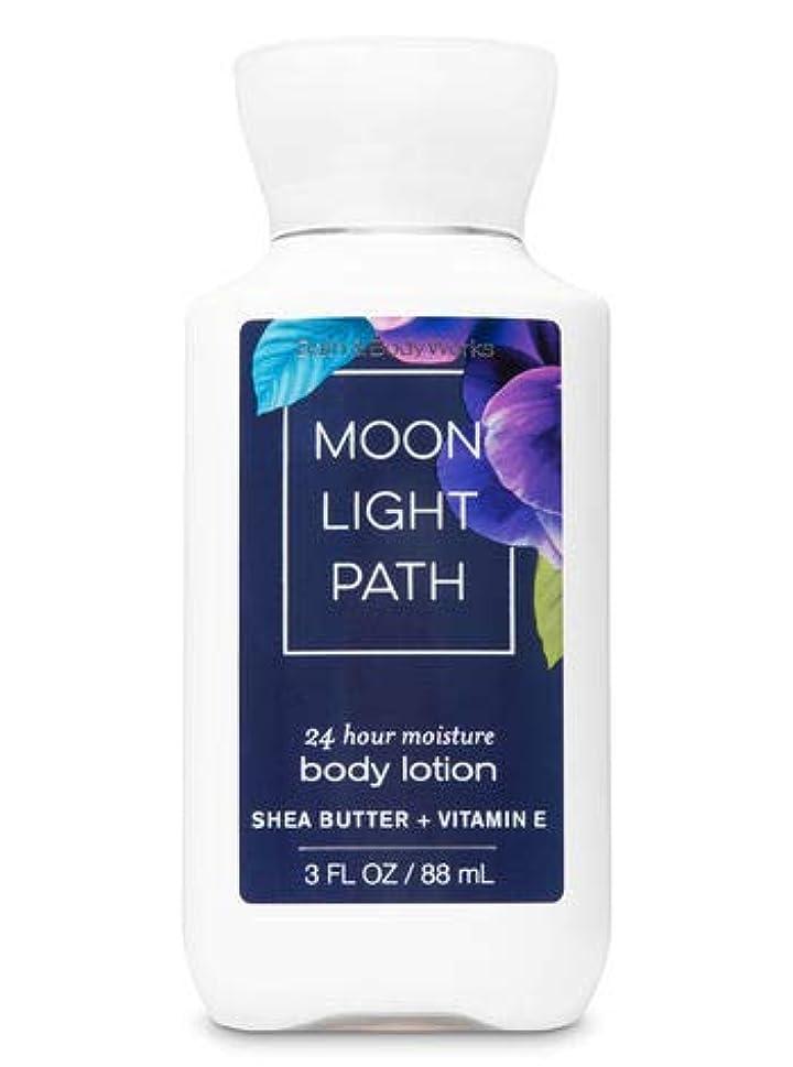 スタックすすり泣き液化するBath & Body Works  ミニ ボディーローション- Moonlight Path*?????? ???【並行輸入品】