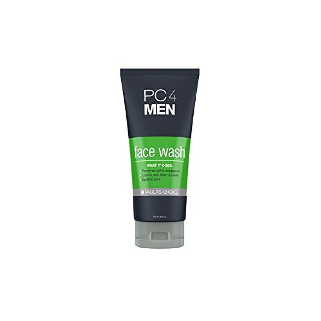 資源祝福するすぐにPaula's Choice Pc4Men Face Wash (177ml) - ポーラチョイス4の洗顔料(177ミリリットル) [並行輸入品]
