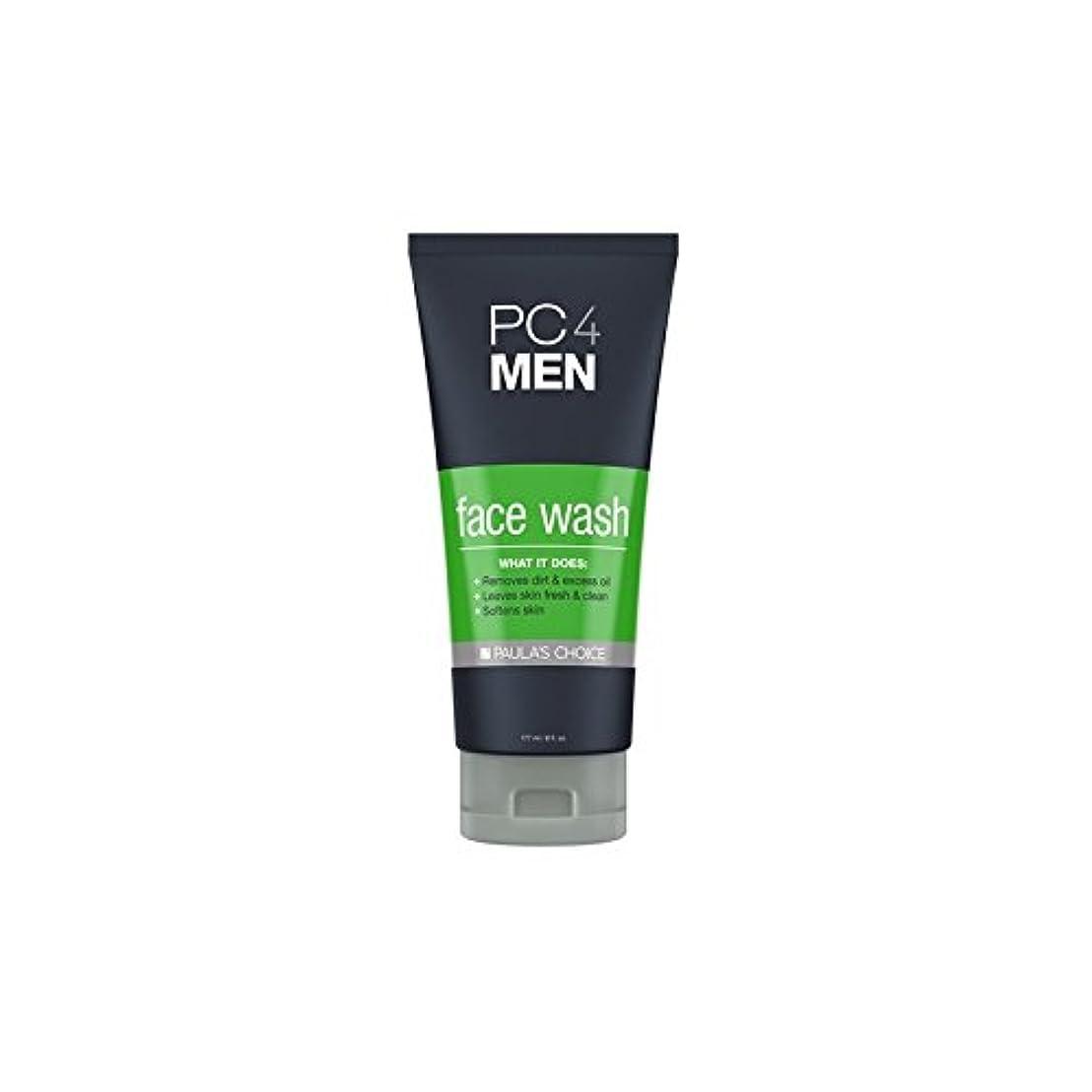 離婚ぺディカブ活気づくPaula's Choice Pc4Men Face Wash (177ml) - ポーラチョイス4の洗顔料(177ミリリットル) [並行輸入品]