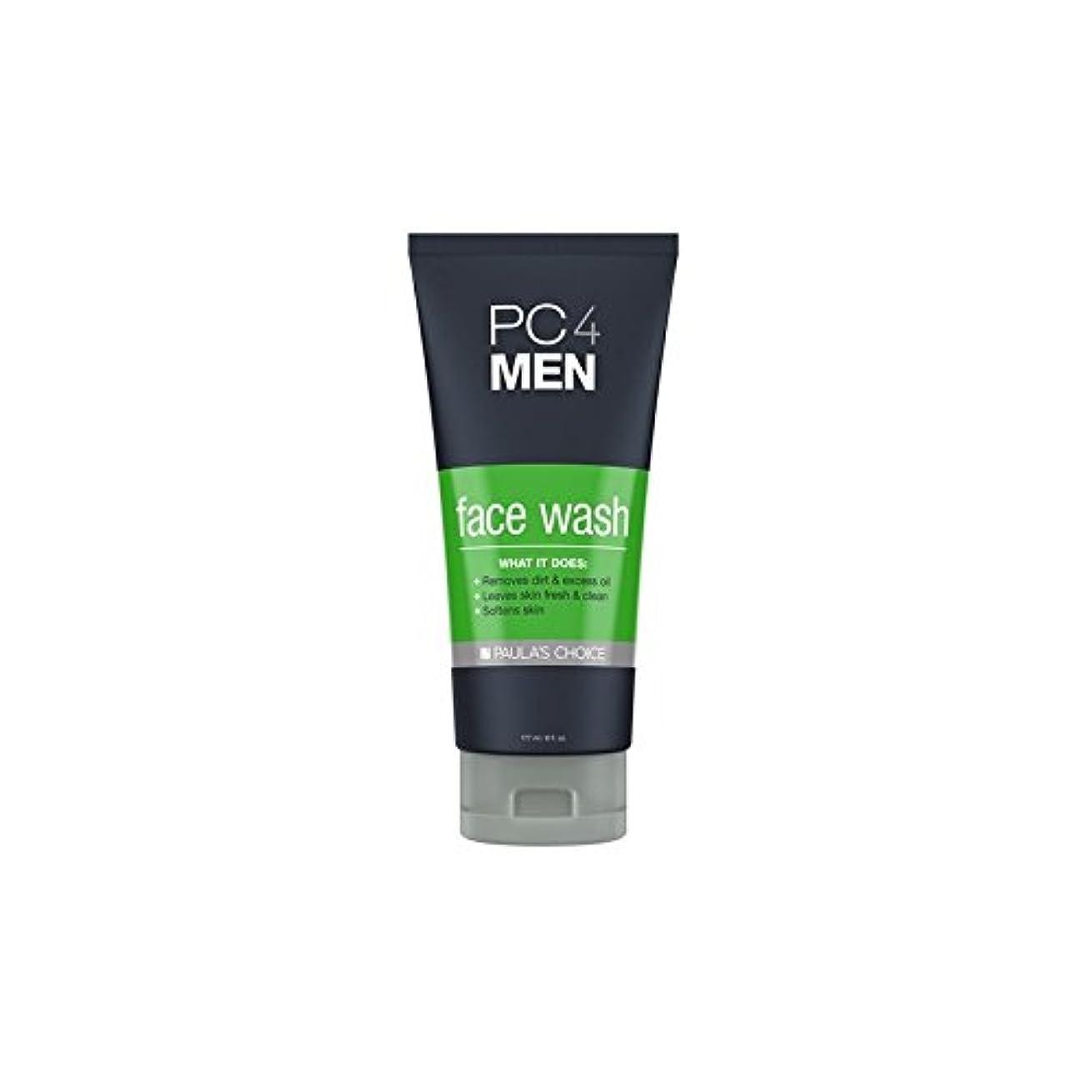 音声エトナ山お手入れPaula's Choice Pc4Men Face Wash (177ml) - ポーラチョイス4の洗顔料(177ミリリットル) [並行輸入品]