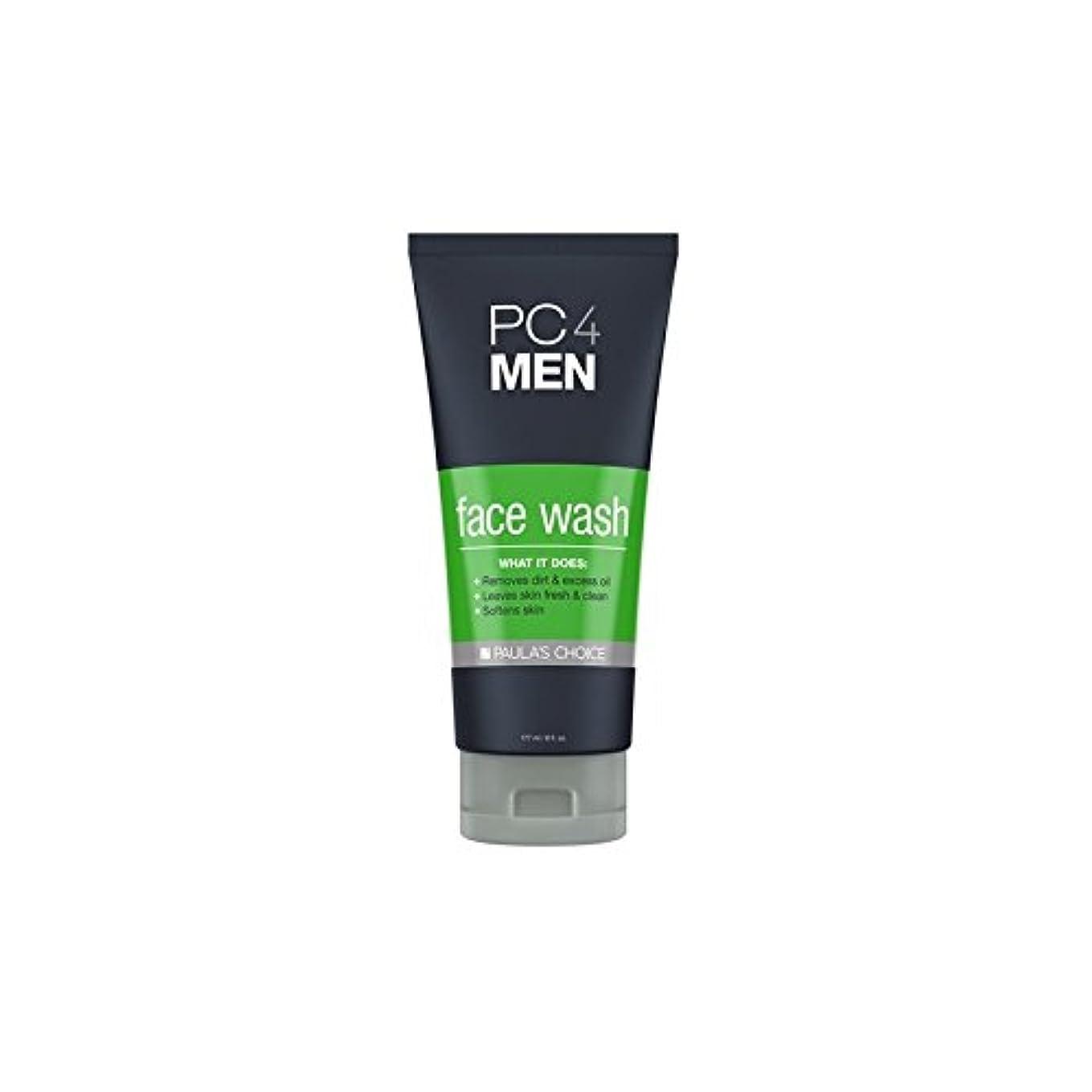 アルファベット事務所親指Paula's Choice Pc4Men Face Wash (177ml) - ポーラチョイス4の洗顔料(177ミリリットル) [並行輸入品]