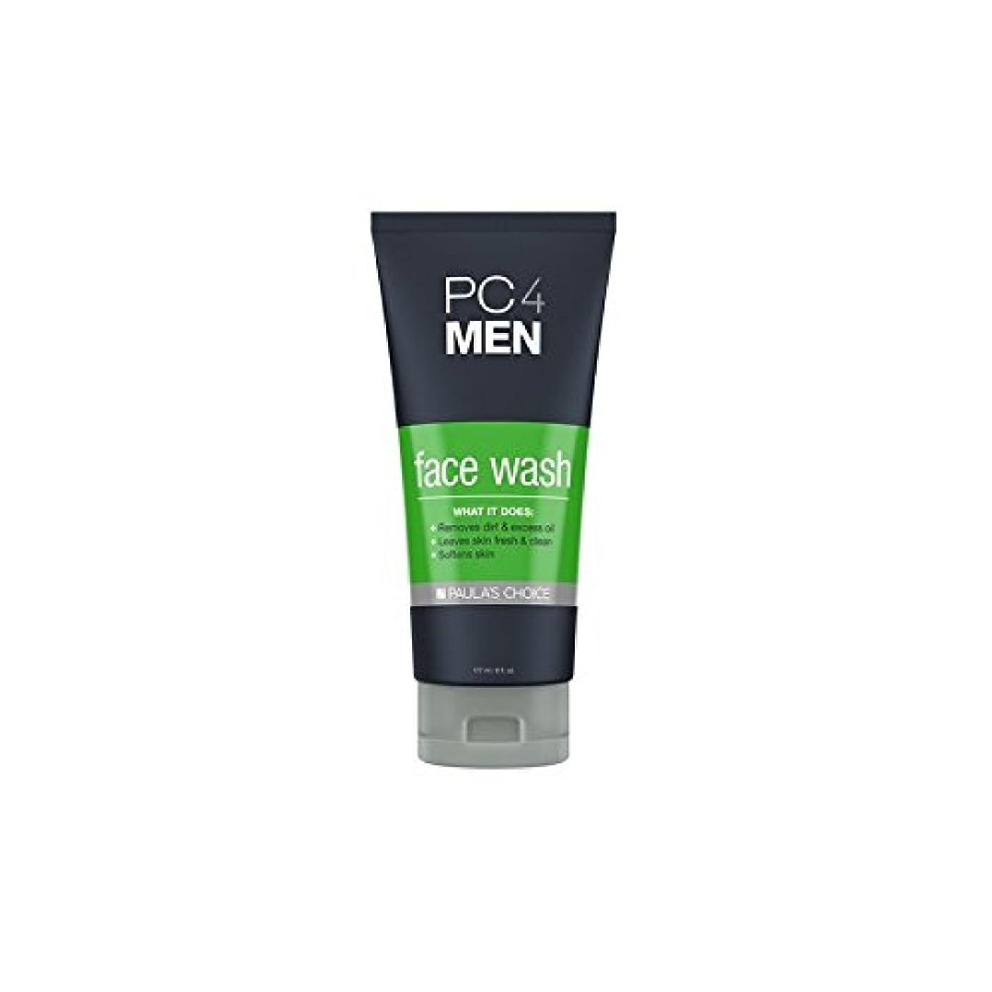 不振子堀Paula's Choice Pc4Men Face Wash (177ml) - ポーラチョイス4の洗顔料(177ミリリットル) [並行輸入品]