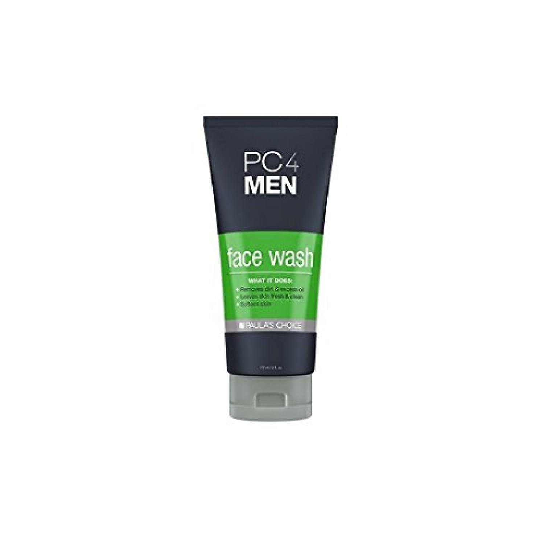 かんがいイヤホン政令Paula's Choice Pc4Men Face Wash (177ml) (Pack of 6) - ポーラチョイス4の洗顔料(177ミリリットル) x6 [並行輸入品]
