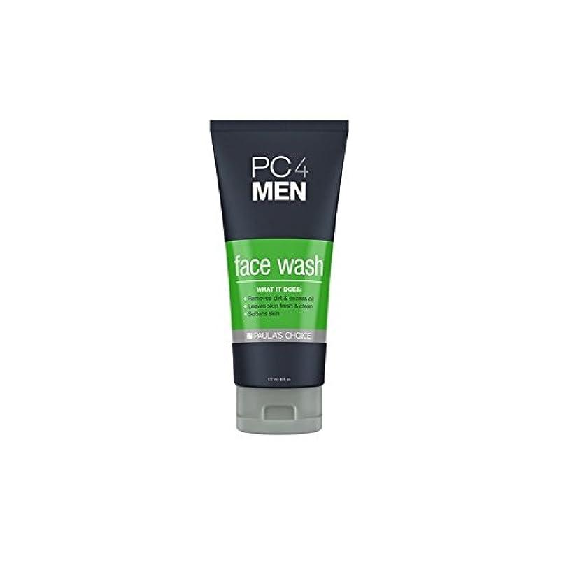 酸度航空革命Paula's Choice Pc4Men Face Wash (177ml) (Pack of 6) - ポーラチョイス4の洗顔料(177ミリリットル) x6 [並行輸入品]
