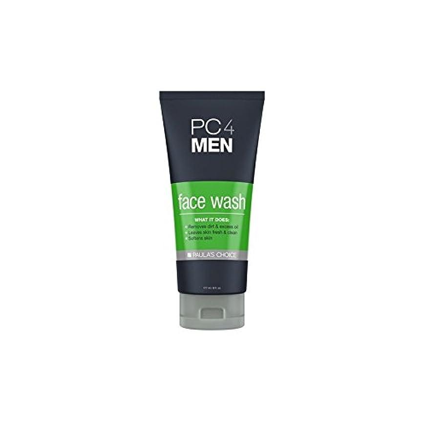 バッグランドマーク原因ポーラチョイス4の洗顔料(177ミリリットル) x4 - Paula's Choice Pc4Men Face Wash (177ml) (Pack of 4) [並行輸入品]