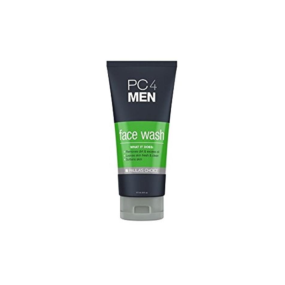 無関心空虚同様にPaula's Choice Pc4Men Face Wash (177ml) - ポーラチョイス4の洗顔料(177ミリリットル) [並行輸入品]