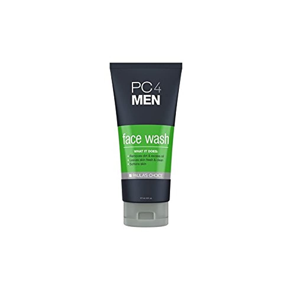 貧困むちゃくちゃ日付付きPaula's Choice Pc4Men Face Wash (177ml) (Pack of 6) - ポーラチョイス4の洗顔料(177ミリリットル) x6 [並行輸入品]