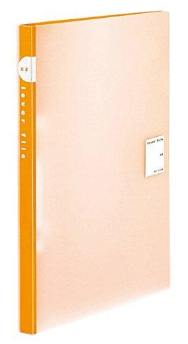 [해외]코쿠 요 레버 파일 EZ PP 표지 A4 120 매 수용 오렌지 프 -U320YR parent/Kokuyo lever File EZ PP Cover A4 120 sheets storage Orange F-U320YR parent
