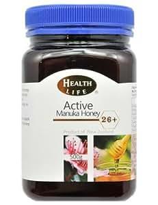 マヌカハニー アクティブ26+ 500g  Health Life社(ヘルスライフ)【並行輸入品】 マヌカ蜂蜜