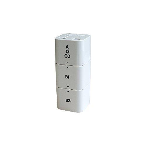 カシムラ 海外用ブロック型変換プラグ カムイ NTI-142