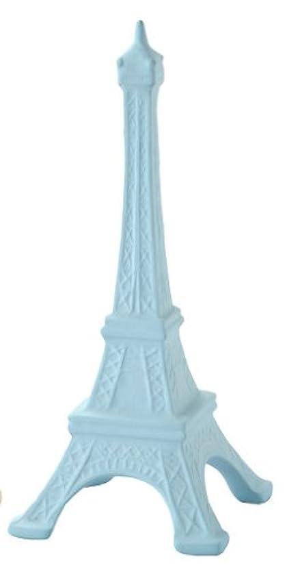 見谷陶器 セラミックス吸水 アロマディフューザーエッフェル塔 ライトブルー MT5-008LB