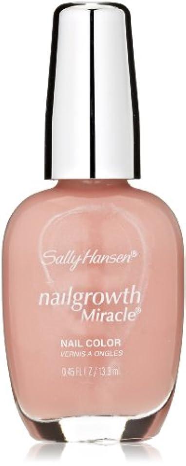 宇宙船高音対話SALLY HANSEN NAIL GROWTH MIRACLE NAIL COLOR #210 NURTURING NATURAL