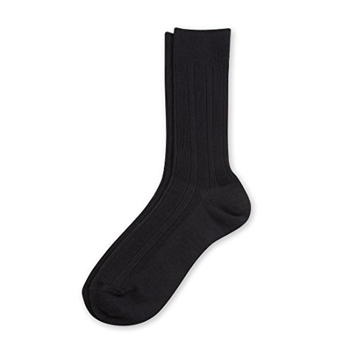 変更可能応用レトルトDeol(デオル) ビジネスソックス 男性用 日本製 靴下 紺 25cm-27cm