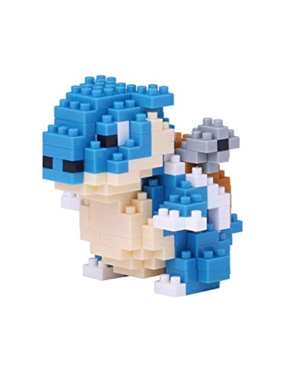 砂漠神社光のNanoblock カメックスポケットモンスター+ギフトピンセット プラスチックキューブビルディングブロック(スマート)