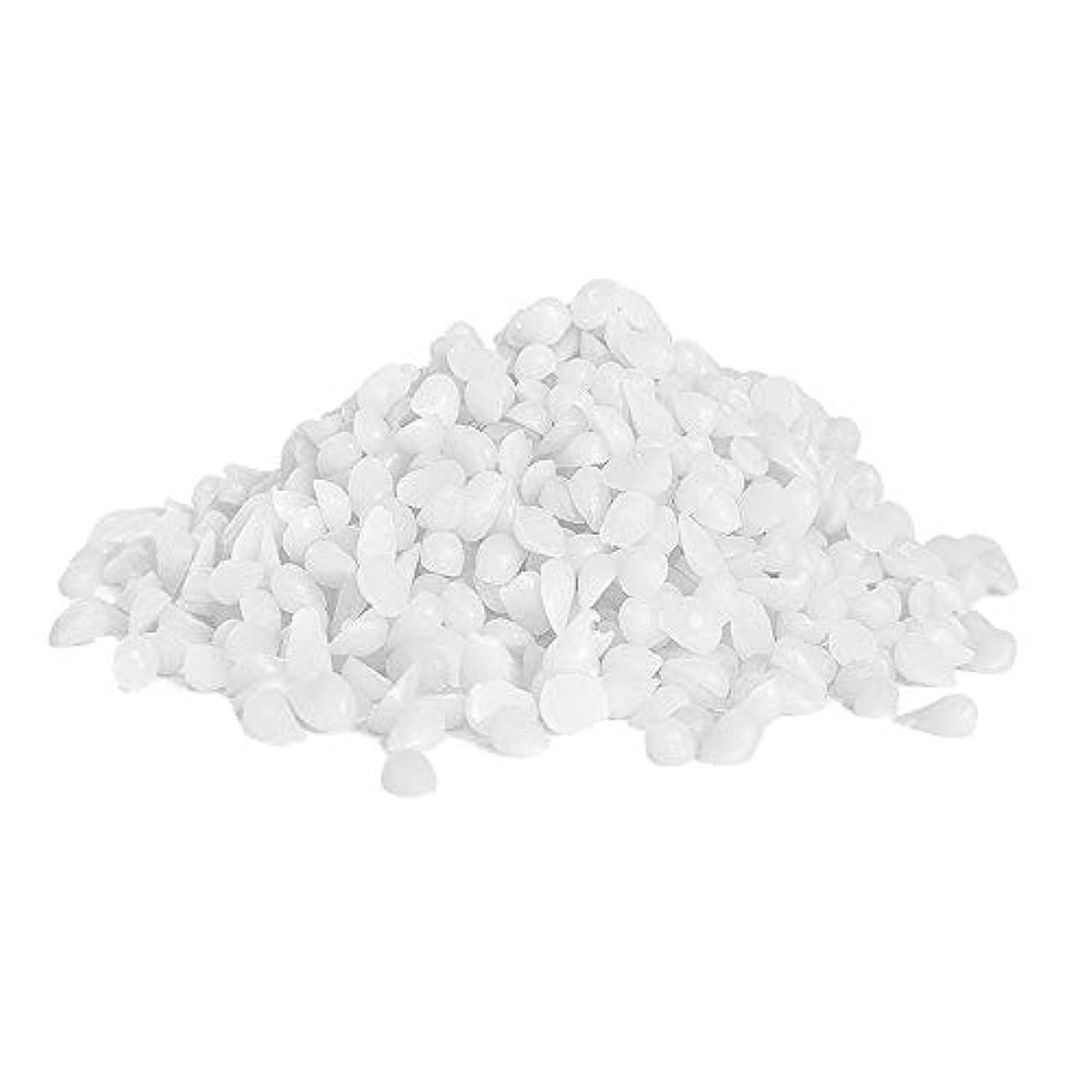経済的生まれバトルTenflyer  ミツロウペレットイエローホワイトトローチ化粧品グレードキャンドルシャップスティックミツロウペレット