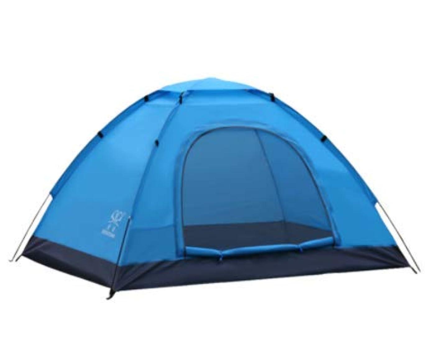 ステージ権利を与える脳LYgMV 新しい二重単層レジャーテント防雨夏の旅行に欠かせない
