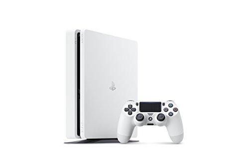 PlayStation 4 グレイシャー・ホワイト 500GB【Amazon.co.jp限定】アンサー PS4用縦置きスタンド 付