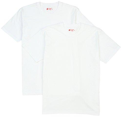 (ヘインズ)Hanes Tシャツ ジャパンフィット クルーネック 2枚組 (最新モデル) H5110 010 ホワイト M