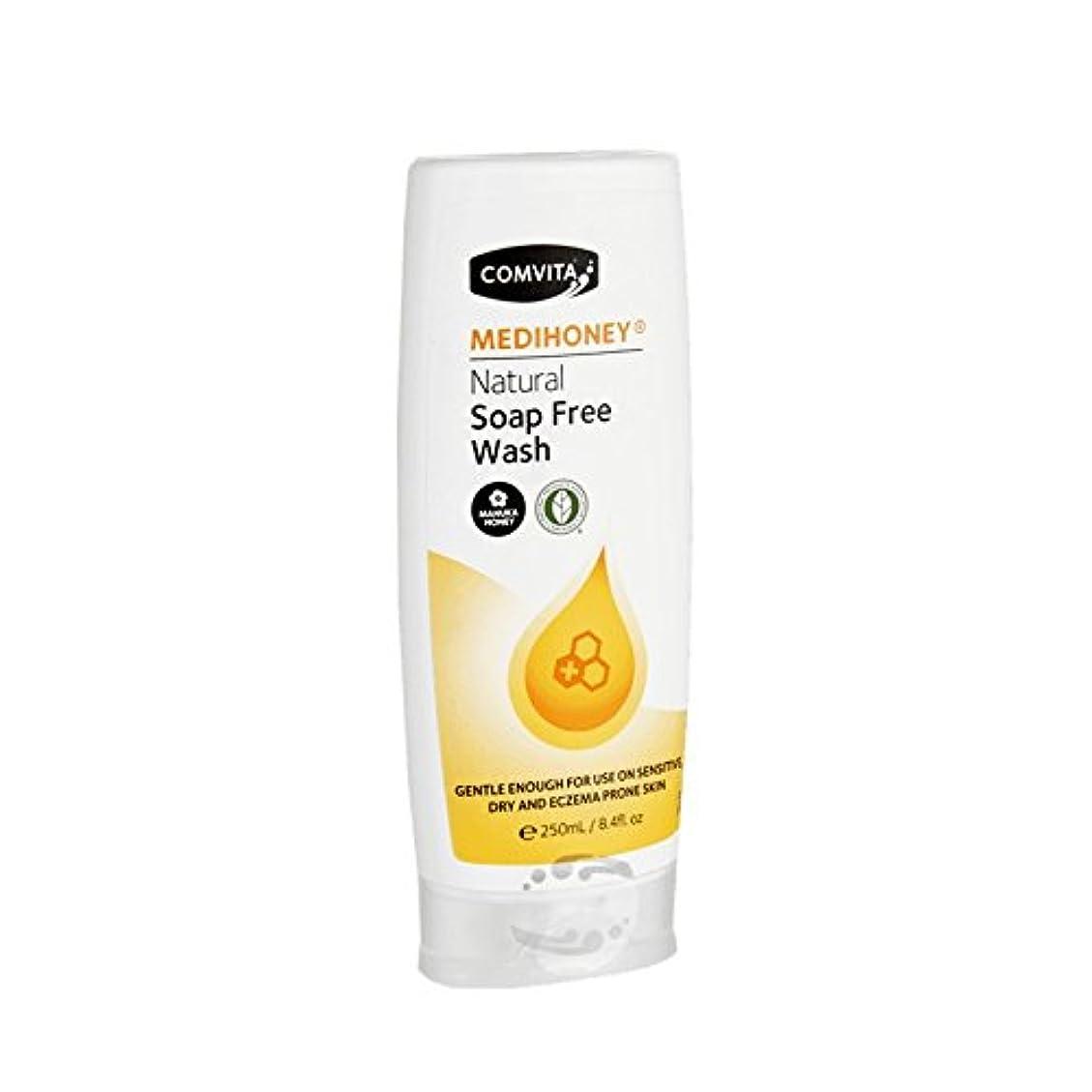 いっぱい脈拍はいComvita Medihoney Gentle Body Wash 250ml (Pack of 6) - コンビタのメディハニー優しいボディウォッシュ250ミリリットル (x6) [並行輸入品]