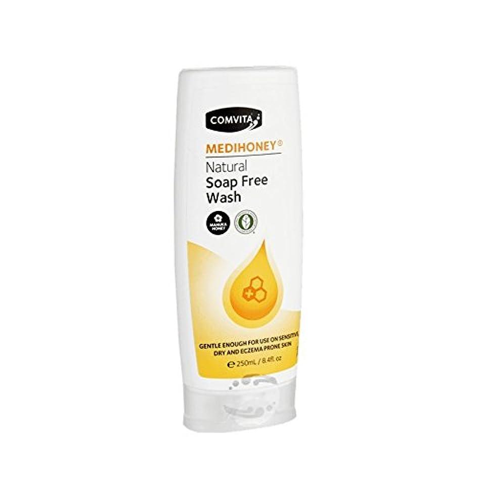 あいまいモールス信号ガロンComvita Medihoney Gentle Body Wash 250ml (Pack of 6) - コンビタのメディハニー優しいボディウォッシュ250ミリリットル (x6) [並行輸入品]