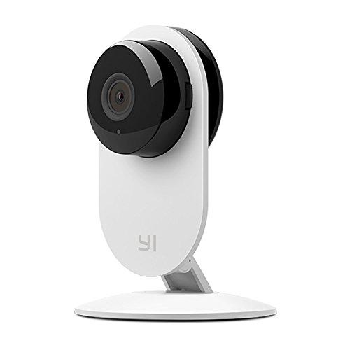 YI Technology YI ホームカメラ White /双方向音声/IP・防犯・監視・遠隔見守りカメラ/暗視撮影/ 【日本語対応】【正規サポート付き】 87018