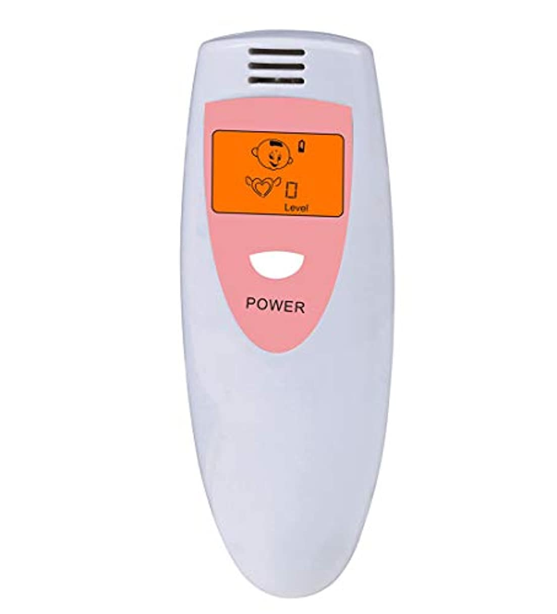 精度荷物誘う【瞬時測定】 携帯ブレスチェッカー デジタル口臭チェッカー 5段階レベル表示 コンパークト口臭予防検査器 大人子供エチケット (Pink)