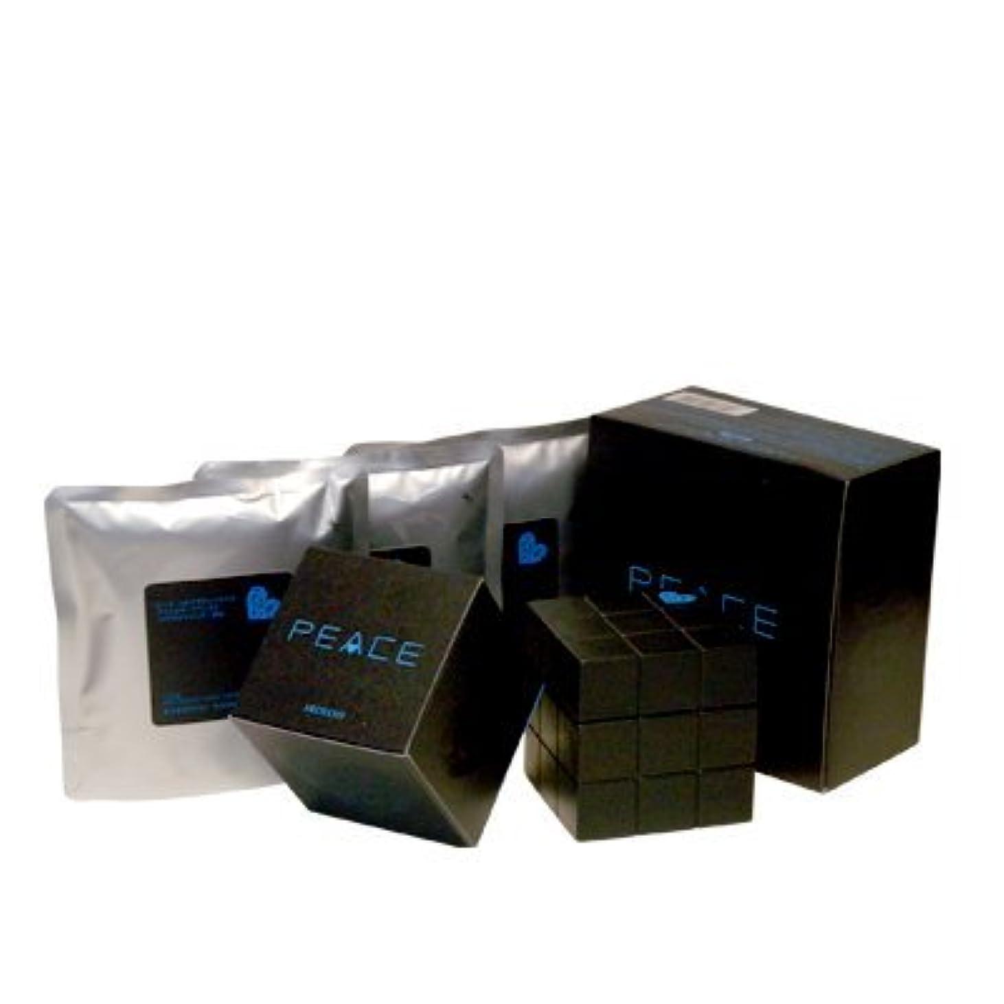 おとうさん豆腐完全にアリミノ ピース プロデザインシリーズ フリーズキープワックス ブラック80g+詰め替え80g×3