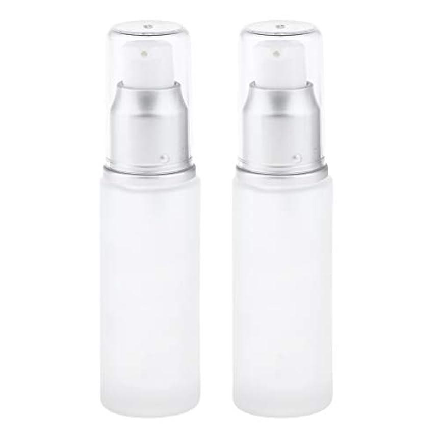 カラス不純竜巻gazechimp コスメ用詰替え容器 ガラスびん 化粧品ボトル 化粧品容器 全2選択 - ポンプヘッド
