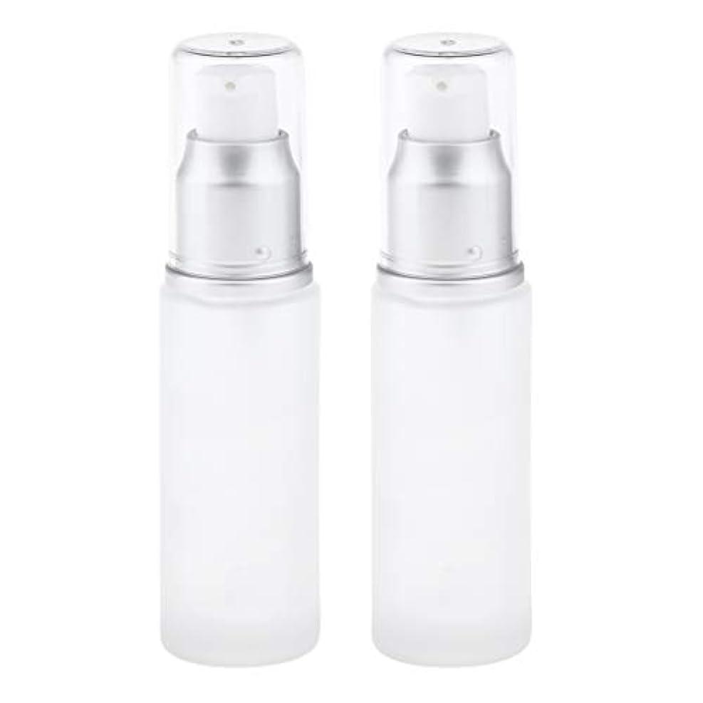 手くるみ卒業gazechimp コスメ用詰替え容器 ガラスびん 化粧品ボトル 化粧品容器 全2選択 - ポンプヘッド