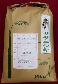 【精米】 ササニシキ 10kg 宮城県登米市産 平成30年度産